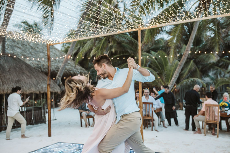 Akiin Beach Tulum Wedding Photographers