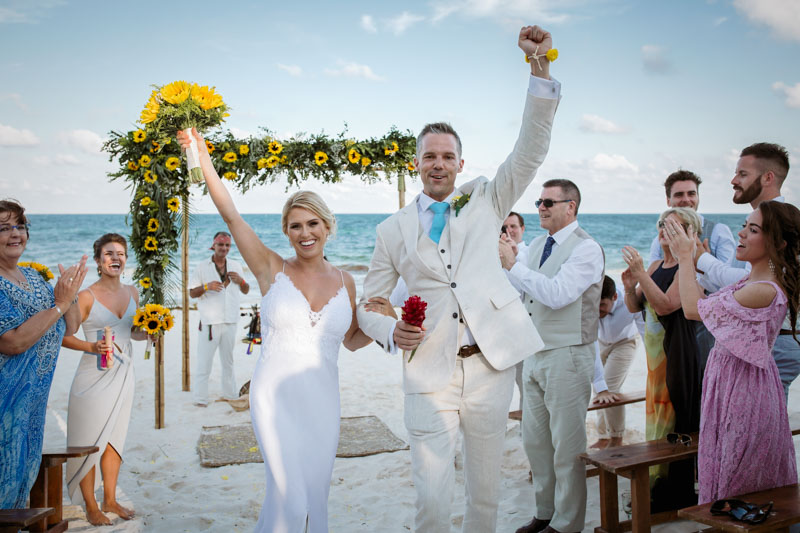 Wedding Akiin Beach Tulum