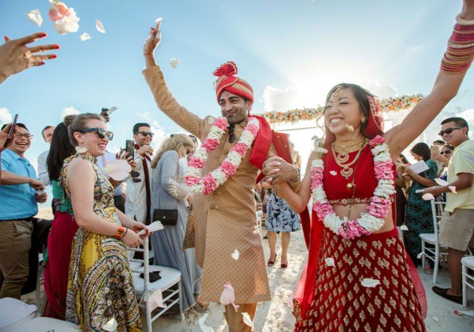 Hindu Wedding Ceremony cancun